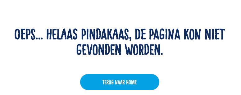 404 pagina Calvé