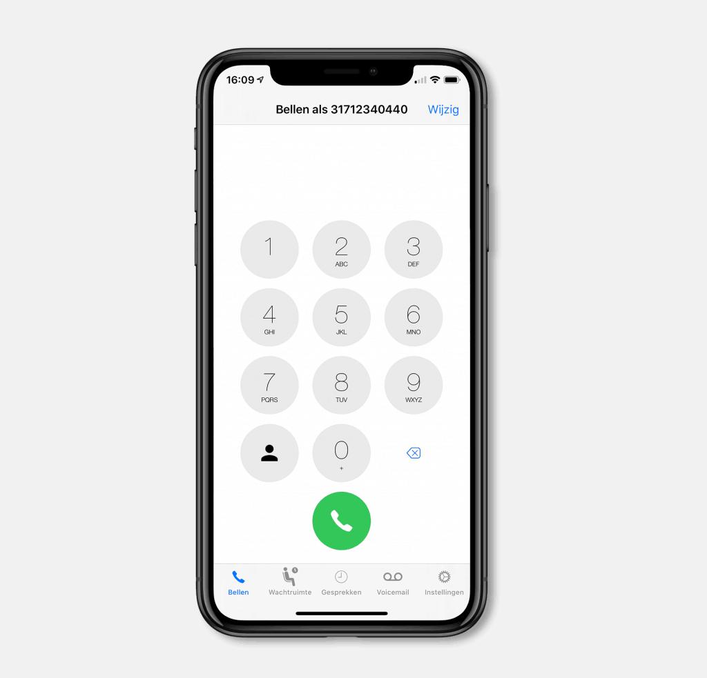 telefoonnummer Bereik