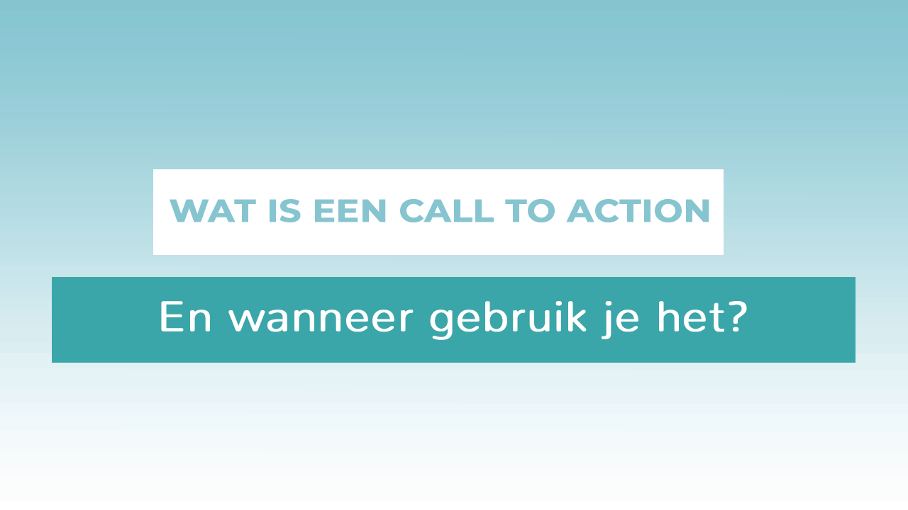 header call to action