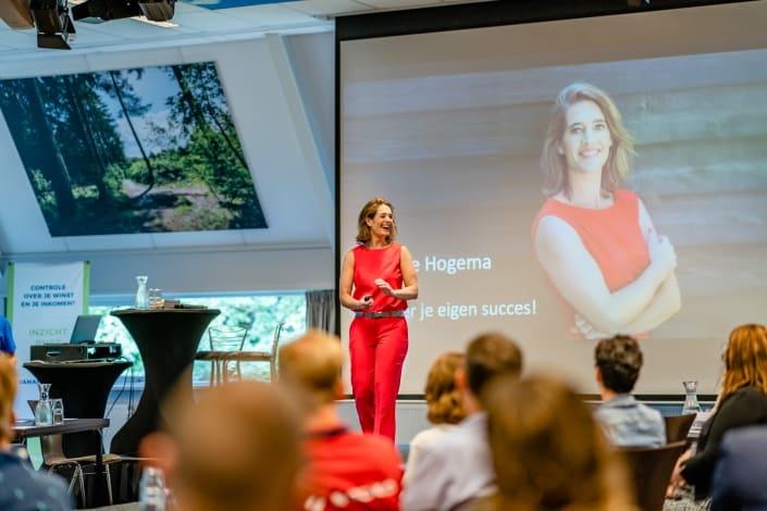 auteur en ondernemer Femke Hogema