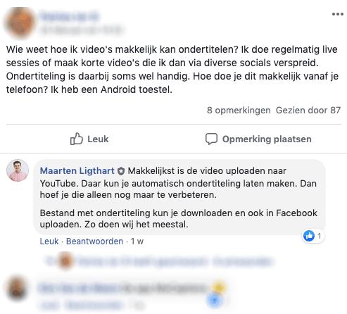 relaties onderhouden Maarten