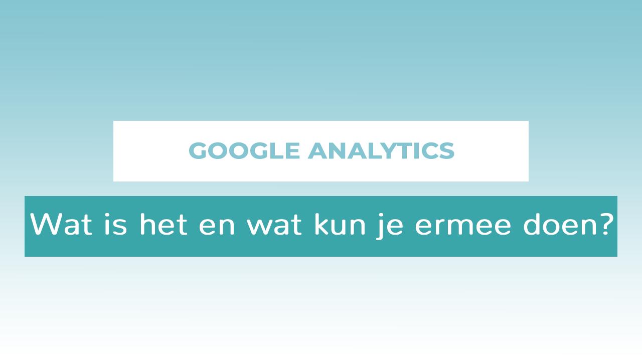 header Google Analytics