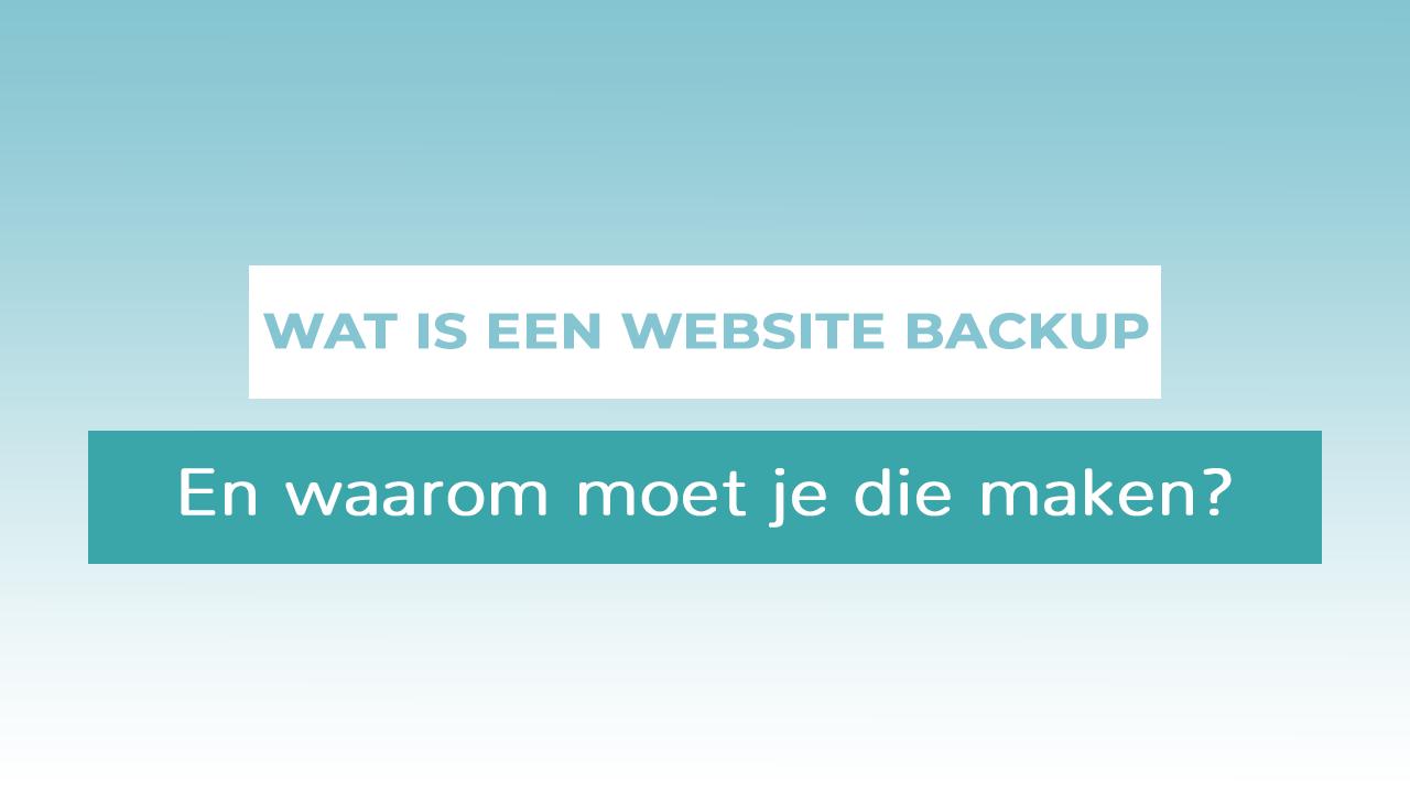 header website backup