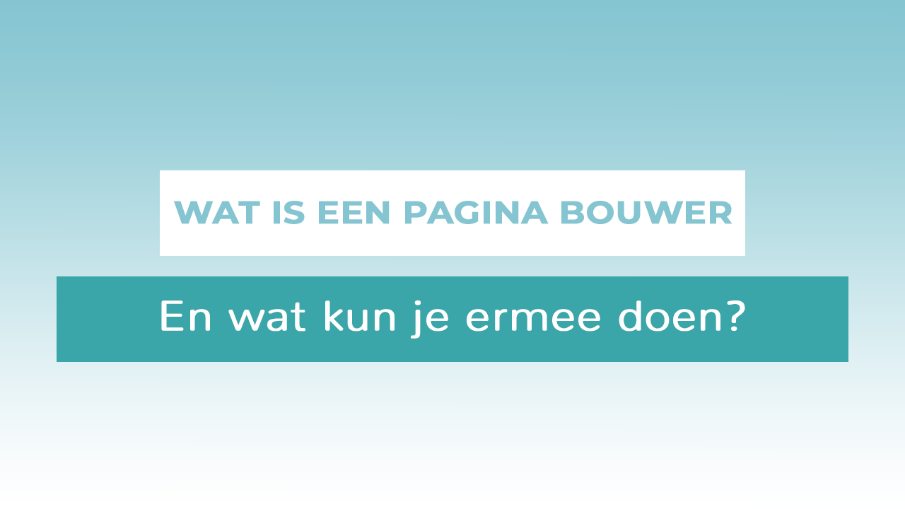 header pagina bouwer