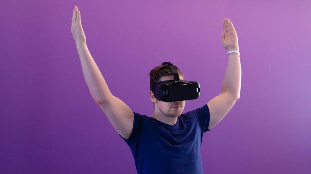 eye tracking VR bril