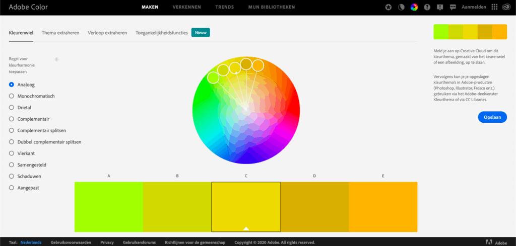 kleuren kiezen - personal branding