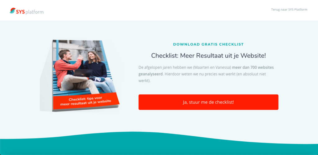 voorbeeld opt-in marketing automation