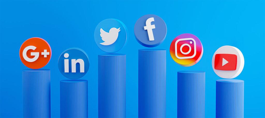Social Media of Website