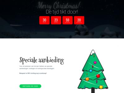 kortingscode kerst